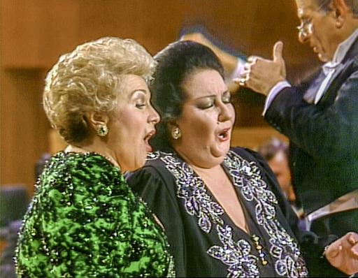Montserrat Caballé ja Marilyn Horne